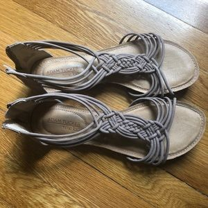 Adam Tucker sandals size 9 leather